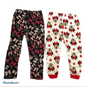 Disney Minnie Mouse 2 leggings set